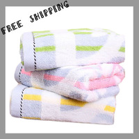 [TOWEL] 34*75 cm 109g New 2013 Adult Children Home Textiles Towels Bathroom Cotton Benefit  Face Cosmetology Towel home textile
