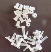 Free shipping 200pcs/100pcs tube bender/pipeline connector +100pcs tube rubber/pipeline plugs For Epson CANON HP Brother CISS