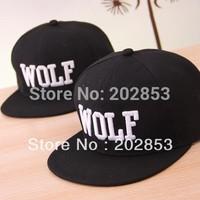 Free Shipping Tide Korea MV formal around EXO series XOXO luhan Wolf hiphop Hat flat hat Baseball Cap