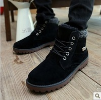 Free shipping 2013 winter men's cotton-padded martin boots warm plus snow boots men sneakers