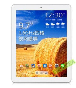 Free shipping P98HD quad core 16GB 2GB 9.7 inch 2048x1536 HD screen 8500 mah battery android 4.2 Wifi OTG ultra thin tablet pc(China (Mainland))