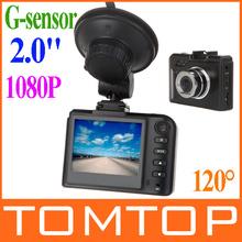 """2.0"""" TFT FHD 1080P 120 Degree H.264 LCD Car Vehicle DVR Camera Driving Recorder Road Safety Guard  Night  Vision G-sensor(China (Mainland))"""