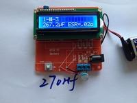 100%  New  mega328 transistor tester Diode Triode Capacitance ESR Meter MOS / PNP / NPN L / C / R