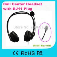 Call center telephone headset/headphone/earphonewith Volume Control Tel Headset