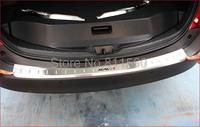 Stainless Steel Rear Bumper Sill Protector Fit For 2013 2014 Toyota RAV4 RAV 4