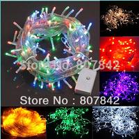 10M LED String Light  AC220V Christmas Decoration Light for Holiday Party Wedding With 8 Display Modes EU plug