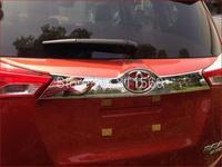 Stainless steel Rear Trunk Lid Cover Trim fit for 2013 2014 Toyota RAV4 RAV 4