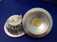 2pcs/Lot COB AR111 LED Spotlight 7W/10W/12W AR111 Dimmable LED COB  Spotlight Factory Drop-shipping