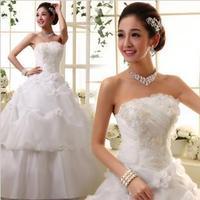 2013 Hot sale Elegant  lace  Wedding Dress