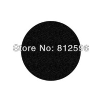 "Free Shipping - 2"" Black Self-Adhesive Polyester Felt Circle Crafts - Customizable"