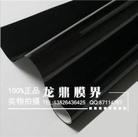 Free shipping black side window heat insulation film rear window heat insulation film 50% 70% 80% rate
