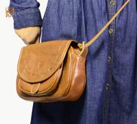 2014 Cowhide Genuine Leather Handbags Women's Shoulder Bag Ladies' Purses Casual Messenger BAG Hobos BH9114+Free Shipping