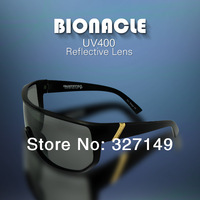 Free shipping,multi color classic reflective von zipper bionacle sunglasses,leisure windproof UV400 coating sunglasses,with box