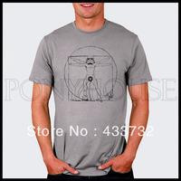 Pattern  funny star wars mens t shirt / mens   up short-sleeve t shirt   / 2013 mens sport casual t shirt