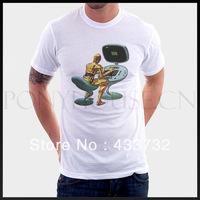 Humor c po star wars mens   top t shirt / mens short-sleeve t shirt / 2013 mens sport casual t shirt