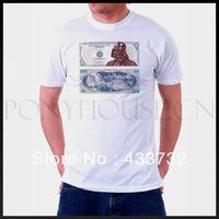 star wars mens t shirt / Vader short-sleeve   top t shirt  / 2013 mens sport casual t shirt