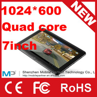 New 7inch CUBE U18GT ATM7029 Quad Core 5-points touch capacitive screen 1024* 600 1.2GHz 1GB/8GB Android 4.1 Tablet PC