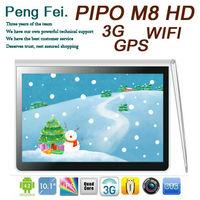 Pipo m8HD m8 HD 10.1 Quad core 1.6GHz Retina ISP 1920*1200 Screen Android 4.2 Bluetooth HDMI 3g/wifi 2G RAM 32GB GPS Tablet PC