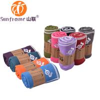 FedEx free shipping,Microfiber Yoga Towel, microfiber fitness, Sunframe skidless yoga mat towel, Hot yoga towel multicolor