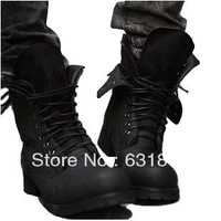 Combat Boots Winter England Style Fashionable men's boots martin  double layer male leather boots male boots plus size shoes