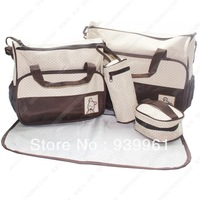 Free Shipping Baby Diaper Bags Designer Fashion Mommy Nappy Bag Large Capacity Travel Women Messenger Bags for Baby