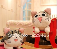 Large sweet gift plush toys wholesale cheese cat owners cat doll cushion Squinting cat laughing cat free shipping