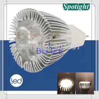 Retail 2pcs/Lot High Power 3 Leds Dimmable MR11 led spotlight 5W GU5.3 GU4 DC 12V Cold White 6000K 45 Degree