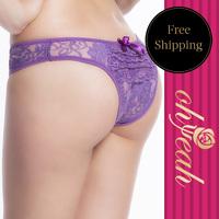 P50083 Free shipping  women boxer underware women hot sale women lace panties crotchless plus size lingerie lace underwear