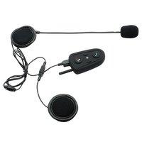 Motorcycle waterproof interfone Helmet Bluetooth intercom Multi Sports Handsfree Headset FM Radio