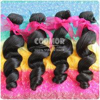 "3PCS/Lot Peruvian Virgin Hair Peruvian Loose Wave Ali Coomor Hair Product Virgin Hair CAN Mixed Any length 12""-30"",Free Shipping"