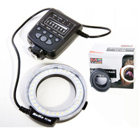 Meike LED Macro Ring Flash Light FC-100 for Nikon D7000 D5100 D3100, for canon eos 550D 6D 60D for Pentax Olympus Camera DSLR