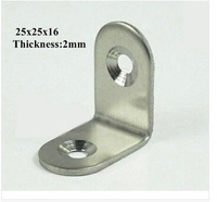 Stainless Steel Corner Brackets Funiture Accessories Metal Connector Thickness 2 mm Angle Bracket