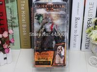 "NECA God of War Kratos in Golden Fleece Armor with Medusa Head 1pcs  7.5"" PVC Action Figure Collection Model Toy"
