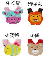 Dropshipping Wholesale Carters Baby Clothes Infant Kid Baby Towel Bape saliva 3 Layer Cartoon Waterproof Bib Free shipping