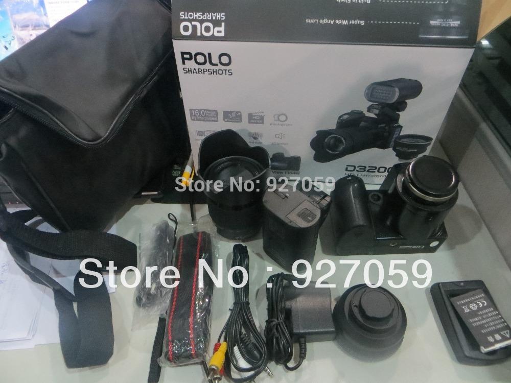 D3200 digital camera 16 million pixel camera Professional SLR camera 21X optical zoom HD camera plus LED headlamps(China (Mainland))