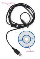 4pcs/Lot Wholesale New Hot Black 2M USB Waterproof Borescope Endoscope Inspection Snake Tube Camera in Stock Dropshipping TK1010