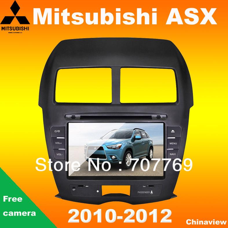 Car Mitsubishi ASX radio 2010-2014 with GPS navigation camera bluetooth dvd(China (Mainland))