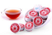 Alcohol Aroma Rose Flavors Mini Cake Ripe Pu Er Tea, Yunnan Menghai Xinyi Hao Brands Women'S Green Slimming Health Care Products