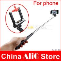 Rotary Extendable Handheld Camera Tripod Mobile Phone Holder Monopod for Digital Camera Smartphone i9300 i9500 n9006 n7100 DV