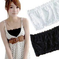 Free shipping, summer essential wild gauze lace bottoming Bra wrapped chest  2p/lot   M183