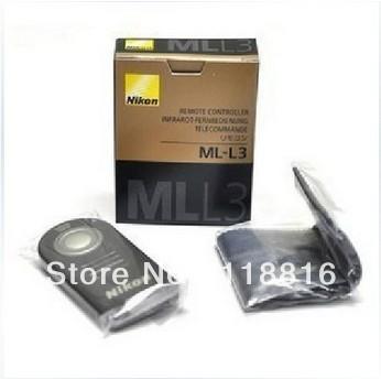 Infrared Remote Control ML-L3 MLL3 for Nikon D40 D50 D60 D70 D80 D90 D3200 D5100 D5200 D7100 D7000 J1 V1(China (Mainland))