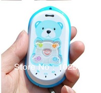 2013 NEW Arrival Baby Bear Kids GPS tracker Phone, child mobile phone, kids cell phone-2 colors in stock