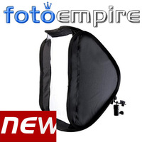 "24"" 60cm Portable Hot Shoe Softbox Soft Box Kit  for Flash Speedlite Photo Studio Shooting Photography"