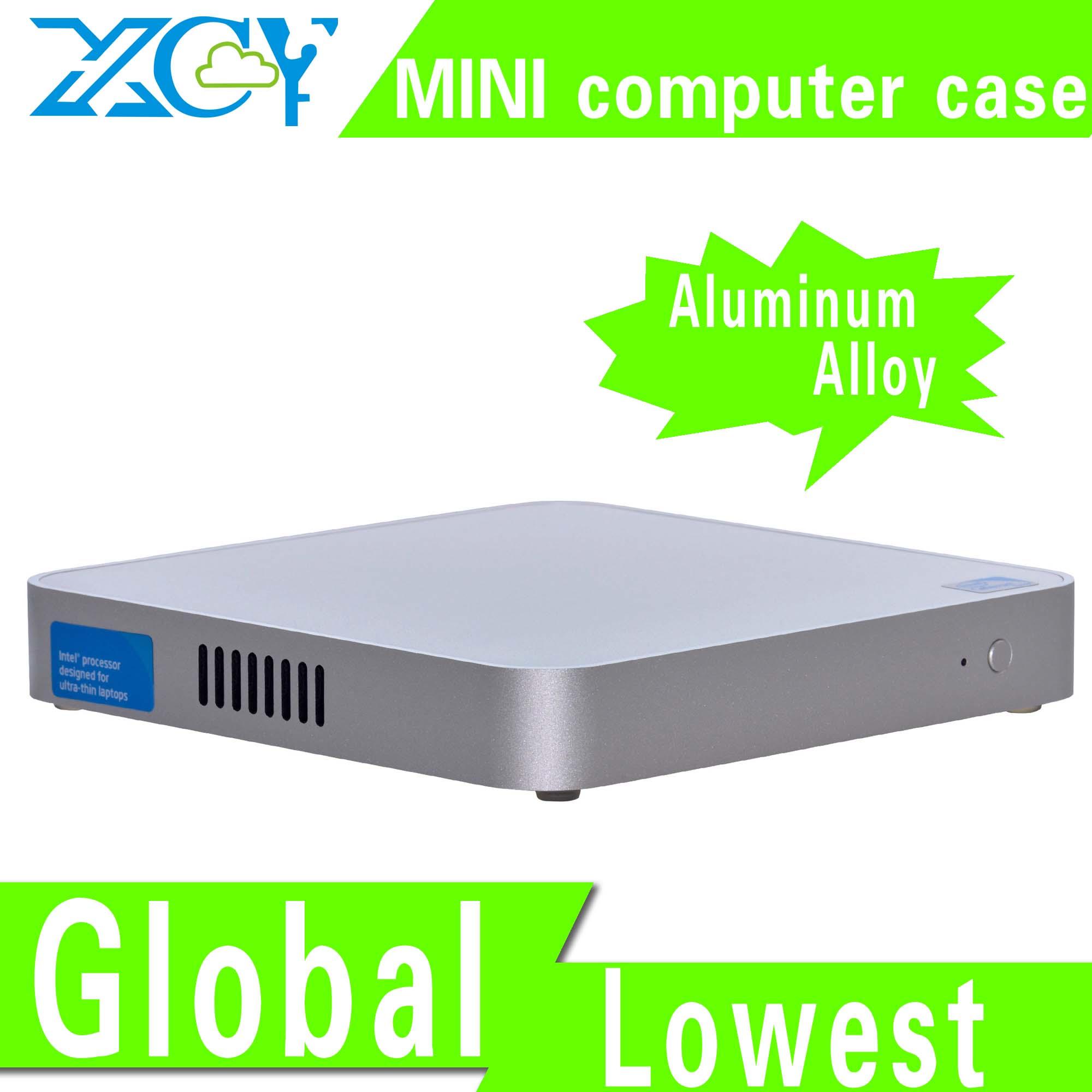 Fanless Design X-26Y mini itx case Htpc mini itx box small computer case Support MIC(China (Mainland))