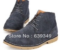 Leather Oxford channel shoes bottom block in the men's shoes designs on woodwork help British han edition of leather shoes