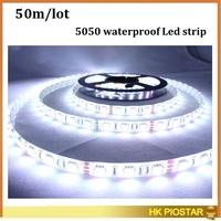 Wholesale 5050 LED Strip fiexible light 300 Led RGB Led Tape DC12V White Cool White Warm White led rope Decoration Light