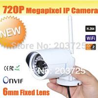 ONVIF Mini Wireless IP Camera Outdoor 720P Waterproof IP66 Wifi Network 1.0MP HD CCTV Camera P2P Plug Play
