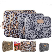 Fashion boutique charm leopard  Laptop Sleeve  Bag Case 10 11 12 13 14 15 inch For Ipad Macbook Notebook