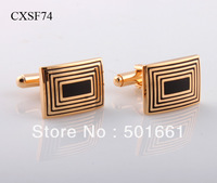 free shipping,sale fashion 2013 Classic gold stone Designer Cufflinks Men and Unisex Shirt Cuff links jewelry cufflinks for mens