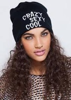 2014 Brand New Fashion Winter Wool  Hiphop Hip Hop  Men and Women  CRAZY SEXY COOL Knitted  Beanies Hats (3 Colors)
